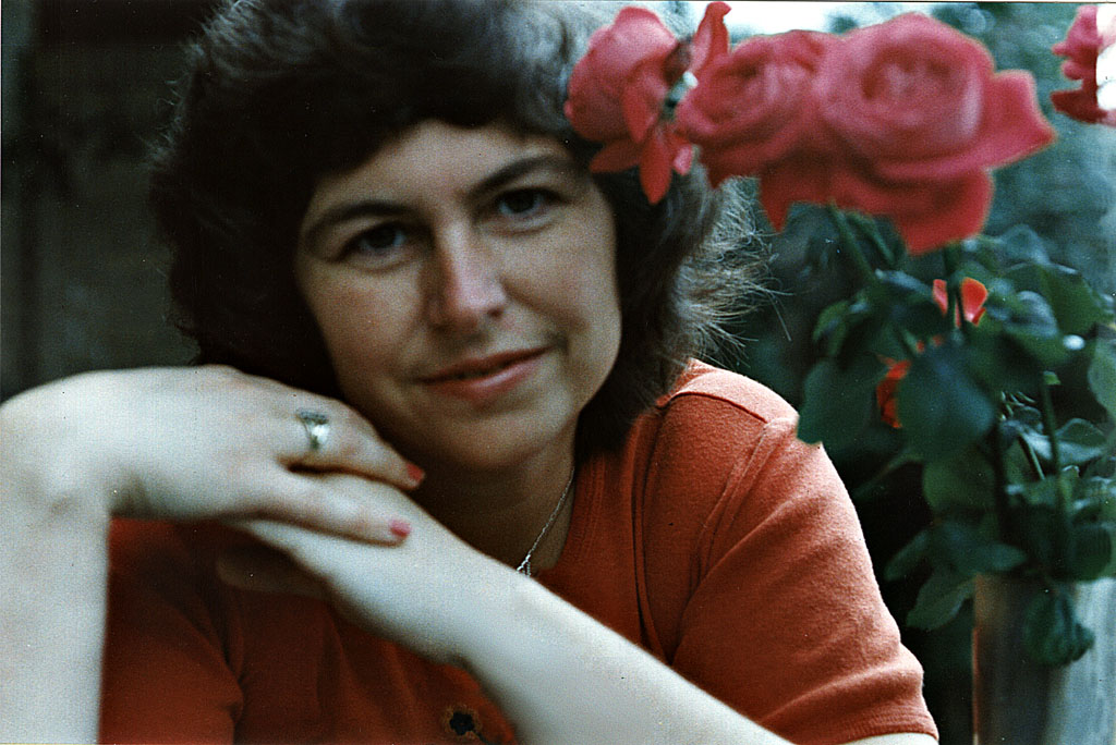 Selbstportrait im Spiegel 1983 © Annegret Ilse Schebesta